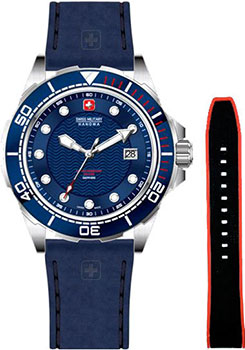 Часы Swiss Military Hanowa Neptune Diver 06-4315.7.04.003SET