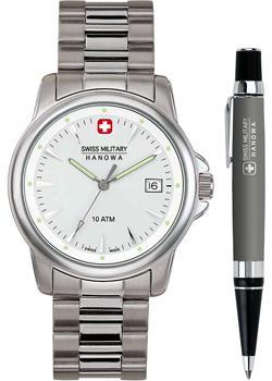 Swiss military hanowa Часы    06-8010.04.001. Коллекция  Recruit