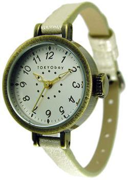 TOKYObay Часы TOKYObay T2033-WH. Коллекция Mabel tokyobay часы tokyobay t135 pu коллекция platform