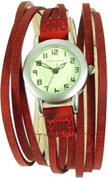 TOKYObay Часы TOKYObay T432-RD. Коллекция Gaucho женские часы tokyobay tram t105 bu