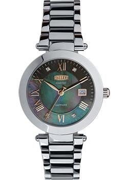 Женские часы Roamer 203.844.41.19.20 Женские часы Romanson SL1223QLW(BK)-ucenka
