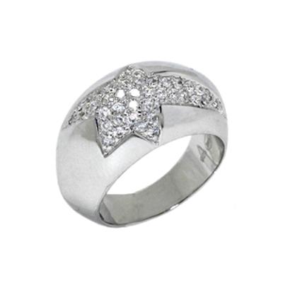 Серебряное кольцо Ювелирное изделие T22061Z thierry mugler женское серебряное кольцо с куб циркониями t22061z 18