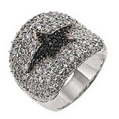 Серебряное кольцо Ювелирное изделие T22137ZN