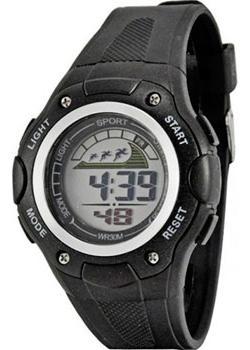 Tik-Tak Часы H433-chernye. Коллекция Электронные часы