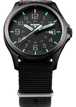 traser швейцарские наручные мужские часы tr 100147 коллекция professional Traser Часы Traser TR.107422. Коллекция Professional