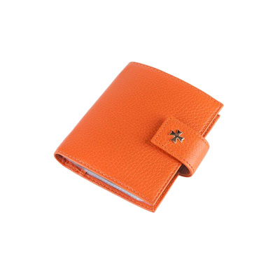 Vasheron Футляры, визитницы, обложки Vasheron 9124-N.Polo-Orange