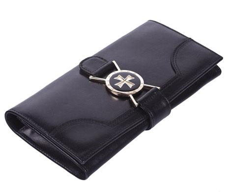 Vasheron Портфели и кожаные изделия Vasheron 9567-Vegetta-Black vasheron портмоне vasheron 9682 n vegetta black