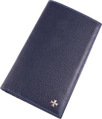 Vasheron Портмоне Vasheron 9682-N.Polo-D.Blue vasheron портмоне vasheron 9682 n vegetta brown