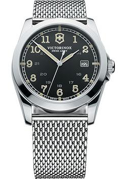 цена Victorinox Swiss Army Часы Victorinox Swiss Army 241585. Коллекция Infantry Vintage онлайн в 2017 году