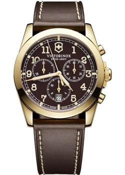 цена Victorinox Swiss Army Часы Victorinox Swiss Army 241647. Коллекция Infantry Vintage онлайн в 2017 году