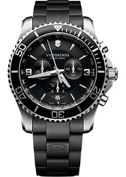 Victorinox Swiss Army Часы Victorinox Swiss Army 241696. Коллекция Maverick Chrono цена и фото