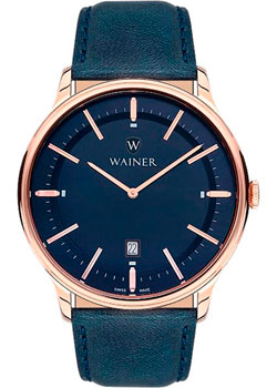 Wainer Часы Wainer WA.11011K. Коллекция Bach часы kenneth cole kenneth cole ke008dmwtw72