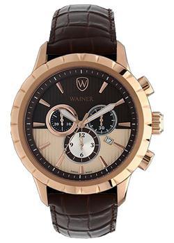 Wainer Часы Wainer WA.12440A. Коллекция Wall Street мужские часы wainer wa 16777 d
