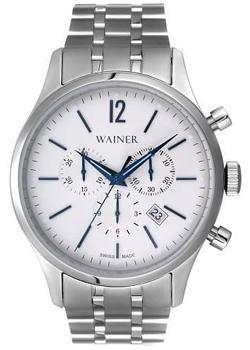 Wainer Часы Wainer WA.12528B. Коллекция Wall Street мужские часы wainer wa 16777 d