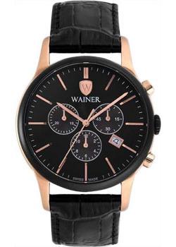 Wainer Часы Wainer WA.14322B. Коллекция Wall Street wainer часы wainer wa 12440h коллекция wall street