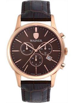 цена Wainer Часы Wainer WA.14322D. Коллекция Wall Street онлайн в 2017 году