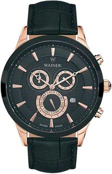 цена Wainer Часы Wainer WA.15916B. Коллекция Wall Street онлайн в 2017 году