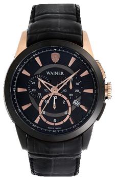 Wainer Часы Wainer WA.16572G. Коллекция Wall Street wainer часы wainer wa 12440h коллекция wall street