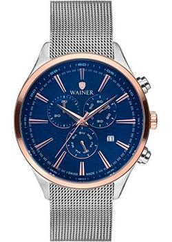 цена Wainer Часы Wainer WA.19060C. Коллекция Wall Street онлайн в 2017 году