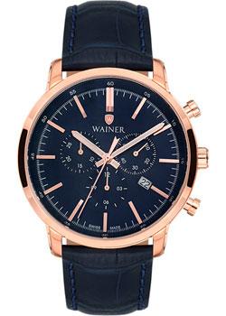 цена Wainer Часы Wainer WA.19472B. Коллекция Wall Street онлайн в 2017 году