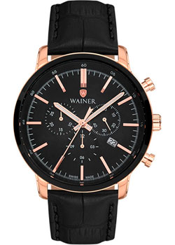 цена Wainer Часы Wainer WA.19472D. Коллекция Wall Street онлайн в 2017 году