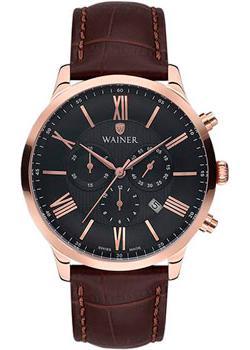 Wainer Часы Wainer WA.19640C. Коллекция Wall Street wainer часы wainer wa 12440h коллекция wall street