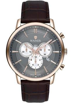 Wainer Часы Wainer WA.19672B. Коллекция Wall Street wainer часы wainer wa 19472d коллекция wall street