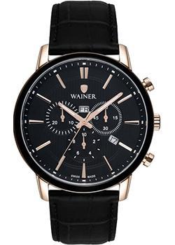 цена Wainer Часы Wainer WA.19672D. Коллекция Wall Street онлайн в 2017 году