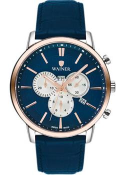 цена Wainer Часы Wainer WA.19672F. Коллекция Wall Street онлайн в 2017 году