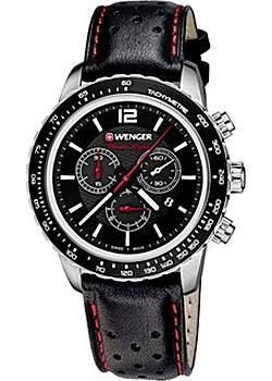 Wenger Часы Wenger 01.0853.105. Коллекция Roadster Black Night Chrono
