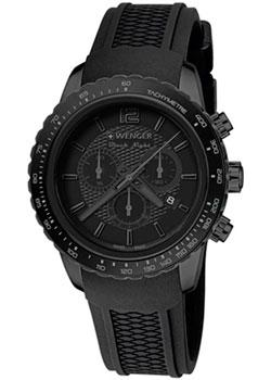 Wenger Часы Wenger 01.0853.111. Коллекция Roadster Black Night Chrono Full Black
