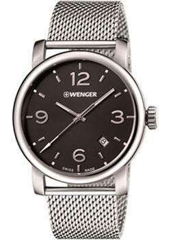 цена Wenger Часы Wenger 01.1041.124. Коллекция Urban Metropolitan онлайн в 2017 году