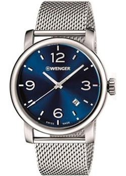 цена Wenger Часы Wenger 01.1041.125. Коллекция Urban Metropolitan онлайн в 2017 году