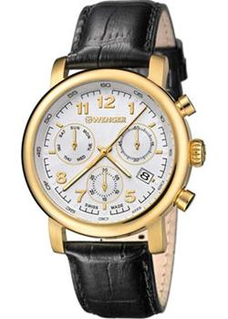 Wenger Часы Wenger 01.1043.106. Коллекция Urban Classic Chrono everswiss часы everswiss 2787 lbkbk коллекция classic