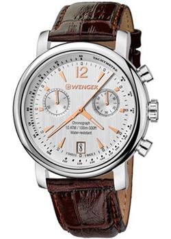 Wenger Часы Wenger 01.1043.110. Коллекция Urban Vintage Chrono wenger часы wenger 01 0853 107 коллекция roadster black night chrono