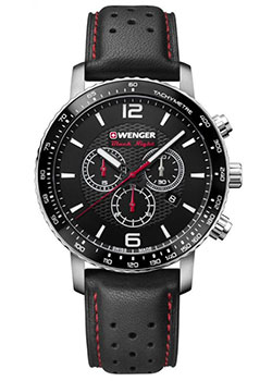 Wenger Часы Wenger 01.1843.101. Коллекция Roadster Black Night wenger часы wenger 01 1843 102 коллекция roadster black night