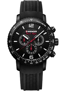 Wenger Часы Wenger 01.1843.102. Коллекция Roadster Black Night wenger часы wenger 01 1843 102 коллекция roadster black night