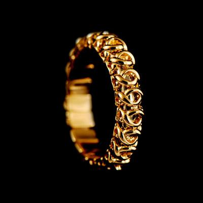 Золотое кольцо Ювелирное изделие 10010