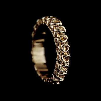 Золотое кольцо Ювелирное изделие 10011