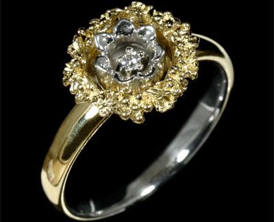Золотое кольцо Ювелирное изделие 10220 major craft trapara tps 662ul 1 99м 1 4гр