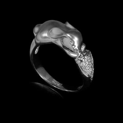 Золотое кольцо Ювелирное изделие 10231