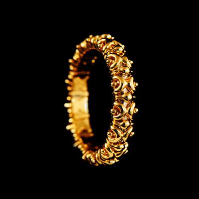 Золотое кольцо Ювелирное изделие 10270