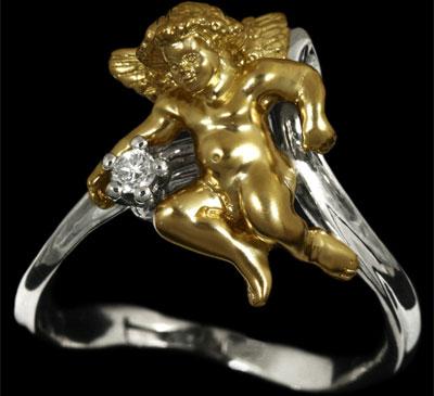 Золотое кольцо Ювелирное изделие 10430