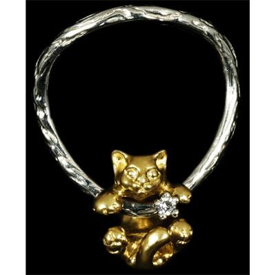 Золотое кольцо Ювелирное изделие 10520