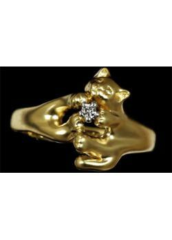 Золотое кольцо Ювелирное изделие 10530