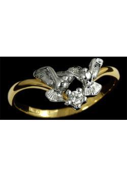Золотое кольцо Ювелирное изделие 10570