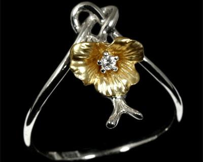 Золотое кольцо Ювелирное изделие 10960