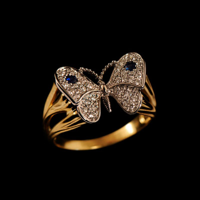 Золотое кольцо Ювелирное изделие 11191