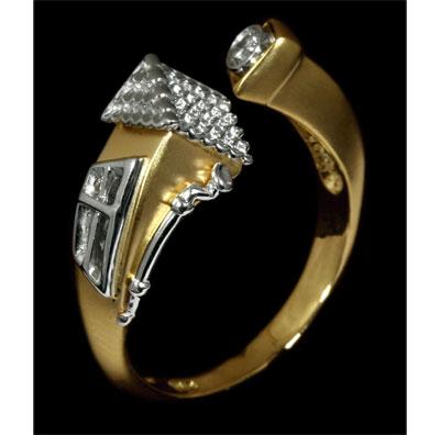 Золотое кольцо Ювелирное изделие 11250
