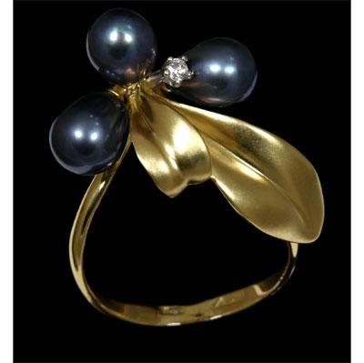 Золотое кольцо Ювелирное изделие 11270